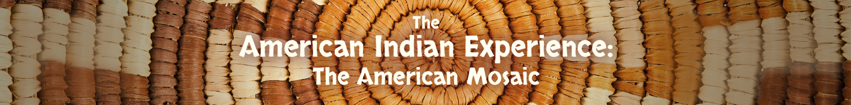 ABC-CLIO Solutions - The American Mosaic: The American Indian Experience